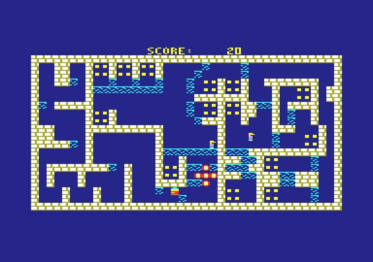 The Burglar Maze - Bomb Explosion