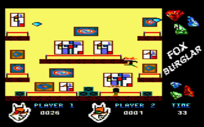 Fox Burglar: gameplay